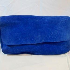 Celine Bags - NEW CELINE PARIS ROYAL BLUE HOBO Suede Bag Purse